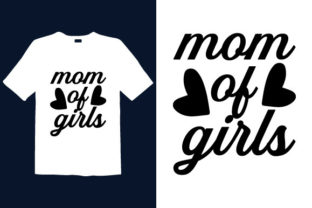 Print on Demand: Mother's Day T-shirt Design 053 Graphic Print Templates By graphicdabir