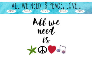 Print on Demand: Peace Love Music & Mary Jane  #1 Graphic Illustrations By CapeAirForce