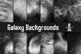 Print on Demand: Science Fiction Digital Paper Graphic Backgrounds By northseastudio