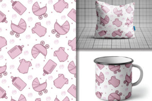 Seamless Pattern Baby Stuff Graphic Patterns By lindoet23