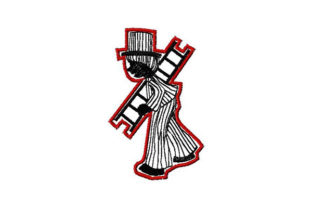 Print on Demand: Sweeper Sketch Outline Work, Religion & School Embroidery Design By Dizzy Embroidery Designs