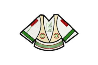 Print on Demand: Traditional Men Shirt Fashion & Beauty Embroidery Design By Dizzy Embroidery Designs