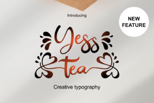 Print on Demand: Yesstea Script & Handwritten Font By Infontree