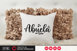 Print on Demand: Abuela 3 Svg Graphic Crafts By PrintableSvg