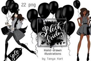 Black Friday Clipart Graphic Illustrations By Tanya Kart