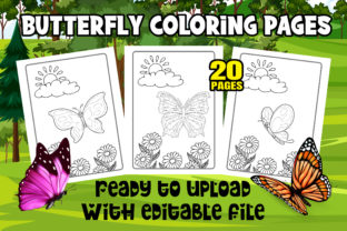 Butterfly Coloring Pages for Kid & Adult Graphic Coloring Pages & Books Kids By Profit creator