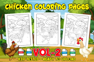 Chicken Coloring Pages for Kids & Adult Graphic Coloring Pages & Books Kids By Profit creator
