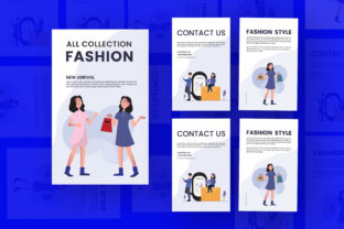 Fashion Flyer Graphic Print Templates By Extumus
