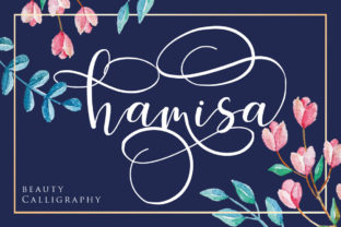 Print on Demand: Hamisa Script & Handwritten Font By Septa Script
