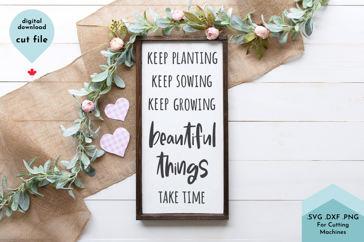 Inspirational Quote SVG Cut File,Nursery SVG File