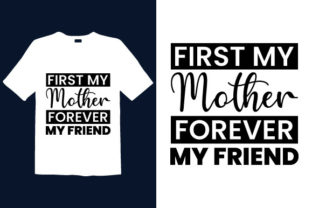 Print on Demand: Mother's Day T-shirt Design 058 Graphic Print Templates By graphicdabir