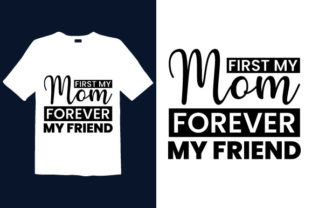 Print on Demand: Mother's Day T-shirt Design 061 Graphic Print Templates By graphicdabir
