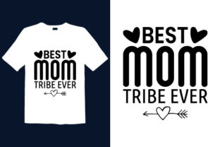 Print on Demand: Mother's Day T-shirt Design 068 Graphic Print Templates By graphicdabir