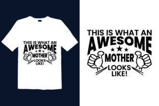 Print on Demand: Mother's Day T-shirt Design 069 Graphic Print Templates By graphicdabir