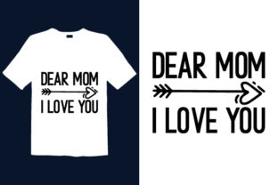 Print on Demand: Mother's Day T-shirt Design 074 Graphic Print Templates By graphicdabir
