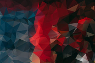Polygonal Multicolor Background Design Grafik Hintegründe von Ju Design