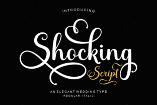 Print on Demand: Shocking Script & Handwritten Font By Suza Studio