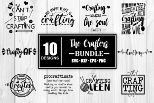 Print on Demand: The Crafters SVG Bundle - Craft Crafting Graphic Crafts By Whistlepig Designs