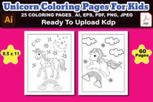 Unicorn Coloring Pages for Kid's Graphic Coloring Pages & Books Kids By Design Lensed