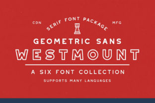 Print on Demand: Westmount Sans Serif Font By Rook Supply