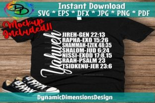 Yahweh Graphic Print Templates By dynamicdimensions