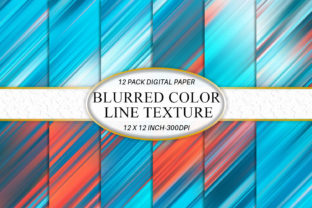 Stripes Colored Digital Paper Graphic Backgrounds By Artnoy