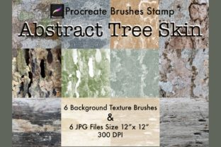 Abstract Tree Skin Procreate Brushes Graphic Brushes By tanvara544