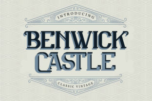 Print on Demand: Benwick Castle Serif Font By Vunira