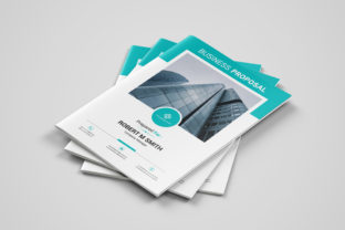 Business Proposal Template Graphic Print Templates By ARP Creation