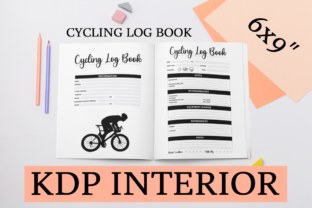 Print on Demand: Cycling Log Book | KDP Interior Graphic KDP Interiors By KDP Mastermind