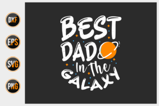 Print on Demand: Fathers Day Quotes Design Vector. Graphic Print Templates By ajgortee