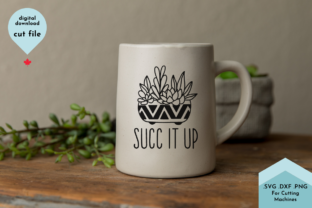 Print on Demand: Funny Succulent Potted Plant Hand Drawn Graphic Crafts By Lettershapes