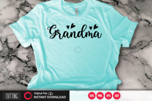 Print on Demand: Grandma Graphic Crafts By PrintableSvg