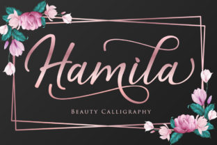 Print on Demand: Hamila Script & Handwritten Font By Septa Script