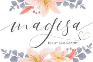 Print on Demand: Magisa Script & Handwritten Font By Maung Lines