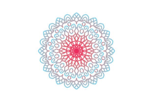 Mandala Vector Art and Graphics Graphic Illustrations By zia studio