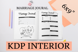 Print on Demand: Marriage Journal | KDP Interior Graphic KDP Interiors By KDP Mastermind