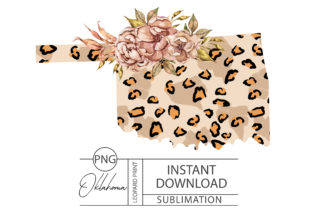 Print on Demand: Oklahoma State Png Files for Sublimation Graphic Print Templates By Tiana Geo