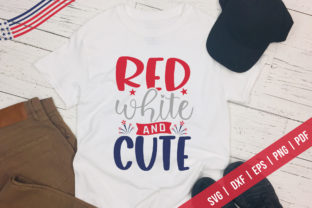 Red White and Cute, Patriotic SVG Graphic Crafts By CraftlabSVG