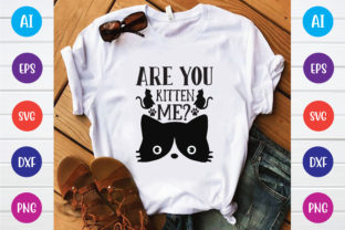Are You Kitten Me? Graphic Print Templates By Printable Store