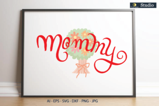 Mommy Graphic Illustrations By Conarsa Studio
