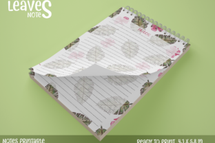 Note Paper Printable 1 Graphic Print Templates By StardDesign