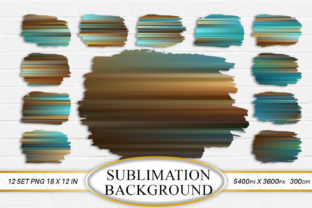 Sublimation Background  Turquoise Graphic Backgrounds By Artnoy