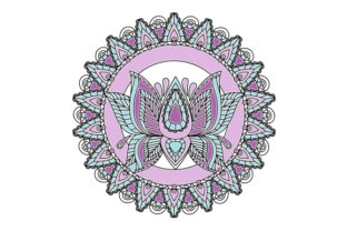 Lotus Flower Mandala Mandalas Craft Cut File By Creative Fabrica Crafts