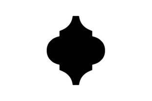 Lowes-style Arabesque Tile Designs & Drawings Craft Cut File By Creative Fabrica Crafts