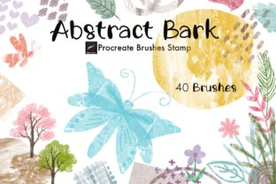 Abstract Bark Procreate Brushes Stamp Graphic Brushes By tanvara544