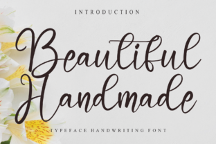 Print on Demand: Beautiful Handmade Script & Handwritten Font By Misterletter.co