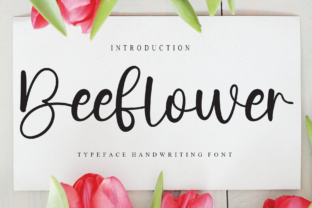 Print on Demand: Beeflower Script & Handwritten Font By Misterletter.co