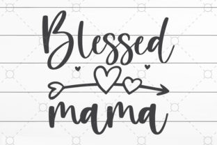 Blessed Mama Graphic Print Templates By NKArtStudio
