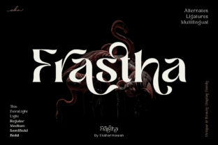 Print on Demand: Frastha Display Font By ekahermawan